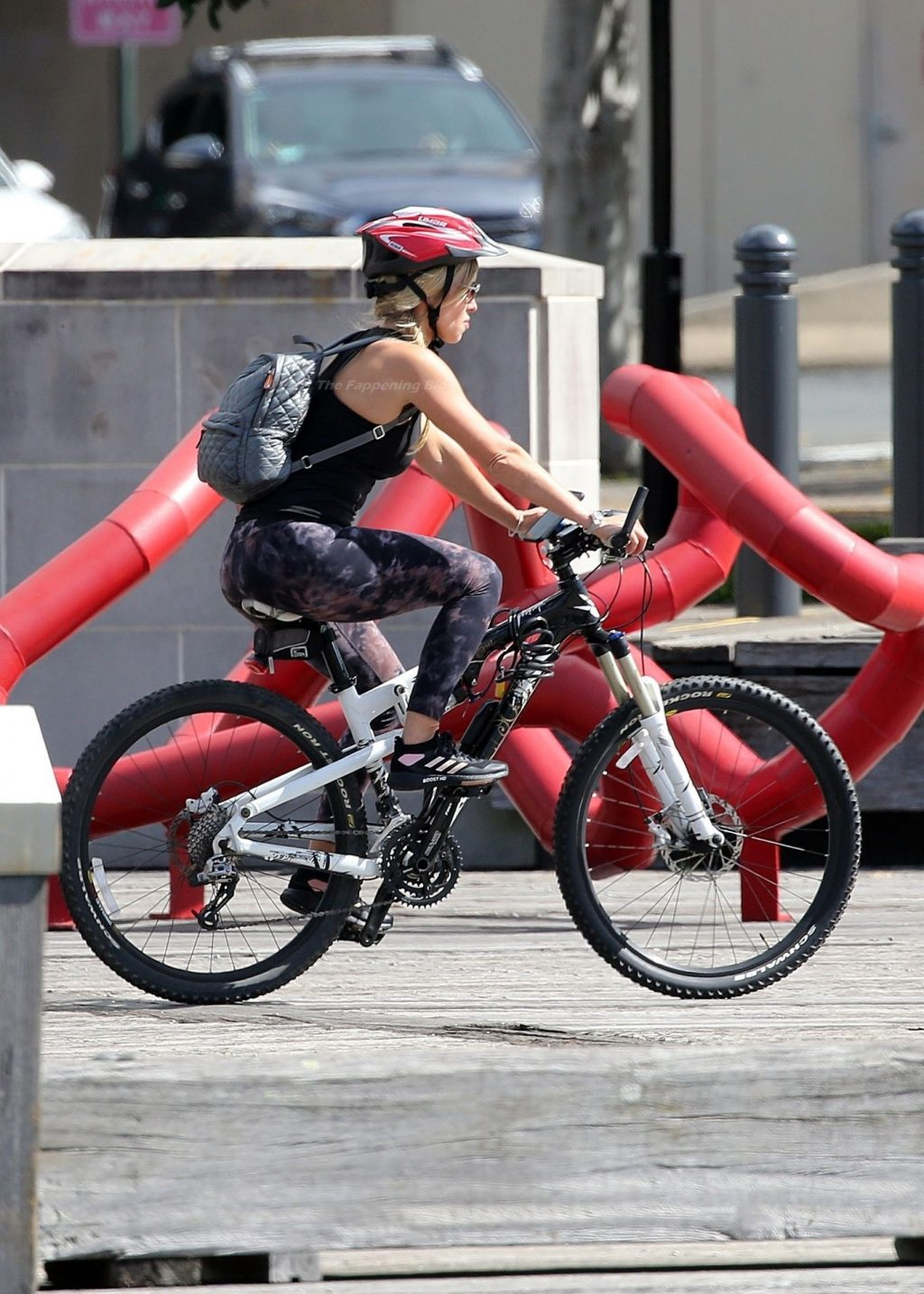 Russell Crowe is Joined on a Bike Ride by Britney Theriot and Rita Ora (27 Photos)