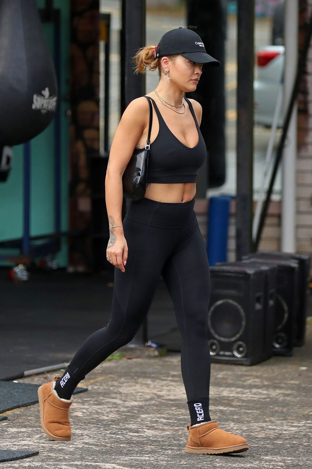Rita Ora Shows Off Her Toned Figure Leaving a Gym in Sydney (55 Photos)