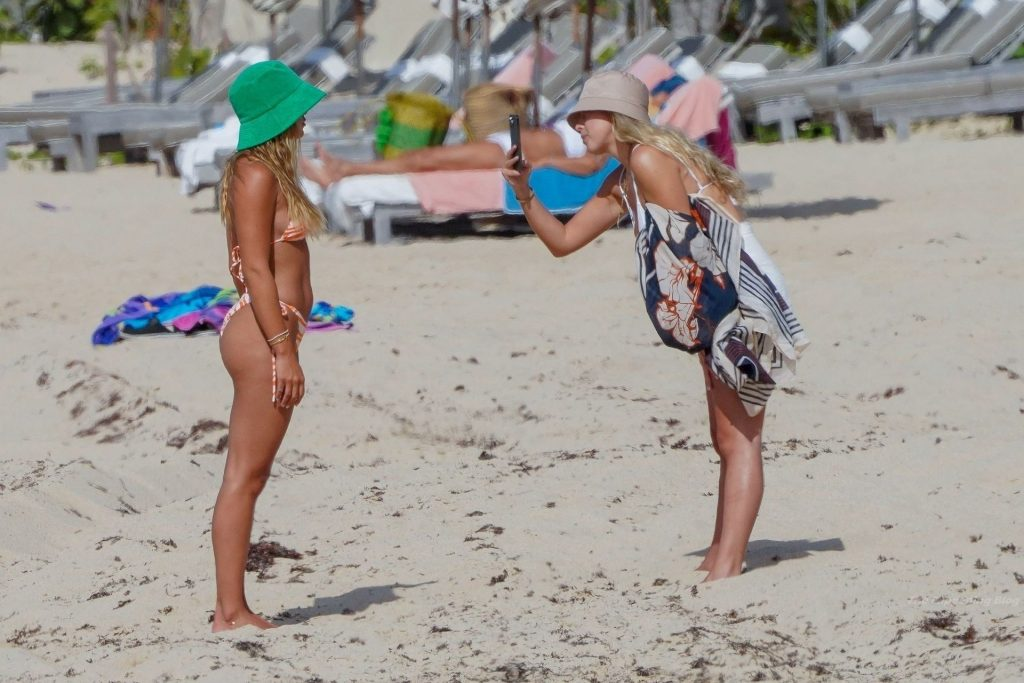 Sofia Richie Poses For Pictures on the Beach in St Barts (32 Photos)