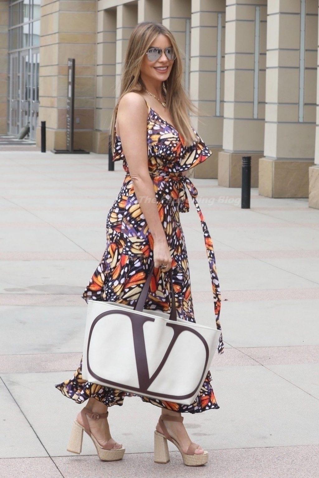 Sofia Vergara is Seen at America's Got Talent Filming (112 Photos)