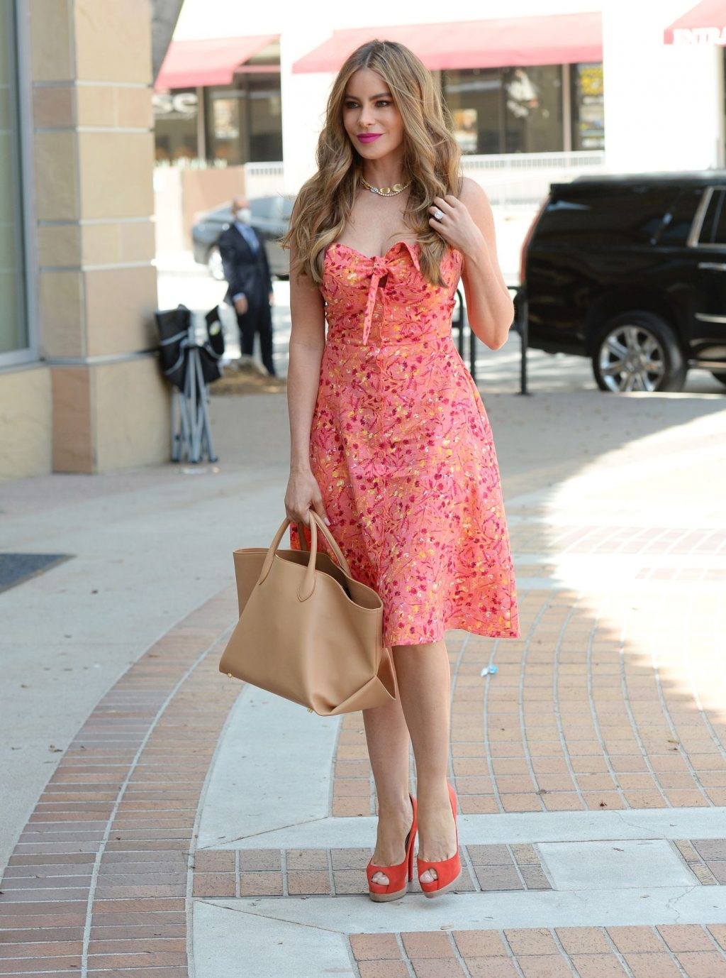 Sofia Vergara Brings Out Her Mile Long Legs for AGT Taping in LA (37 Photos)