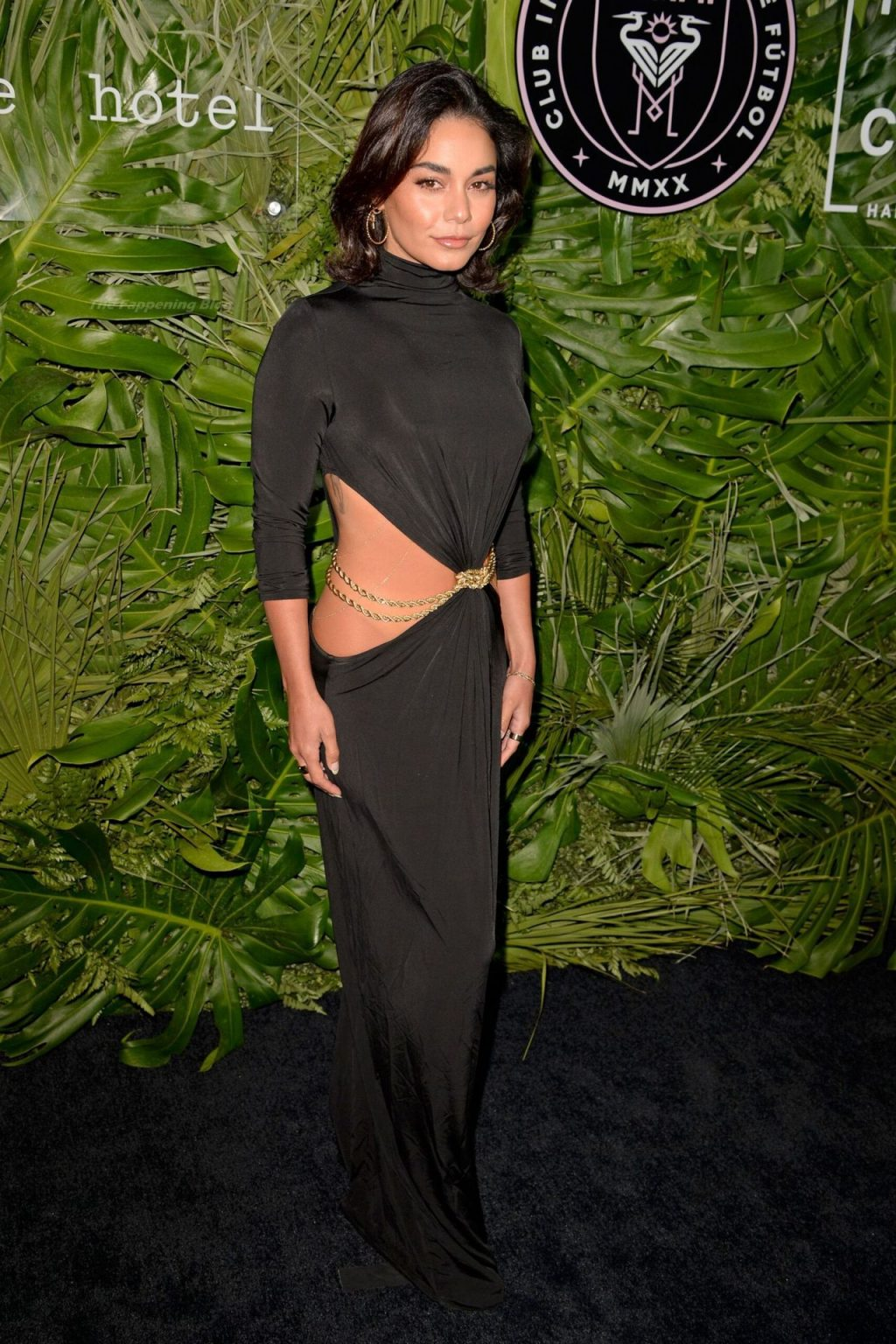 Braless Vanessa Hudgens Stuns at The Goodtime Hotel Opening in Miami (30 Photos)