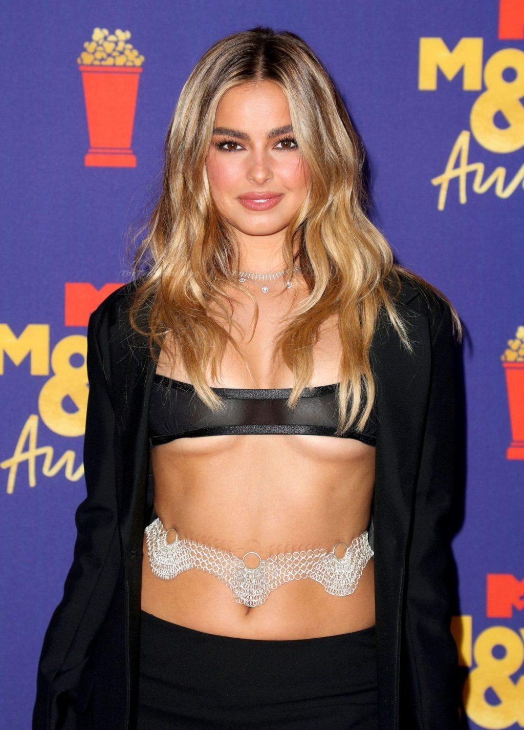 Addison Rae Flaunts Her Tits at the 2021 MTV Movie & TV Awards (44 Photos)