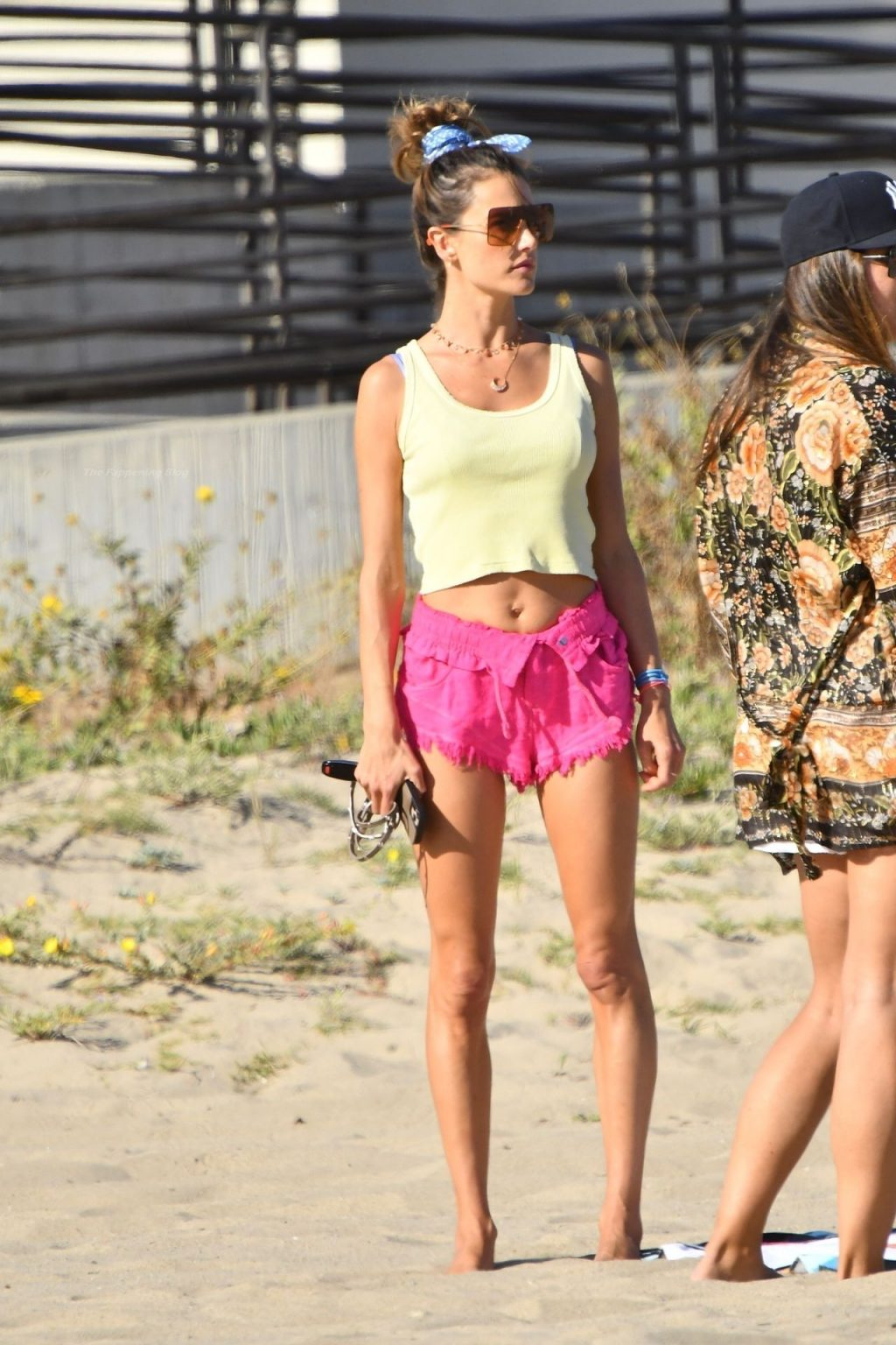 Alessandra Ambrosio Stuns While Playing Beach Volleyball (80 Photos)