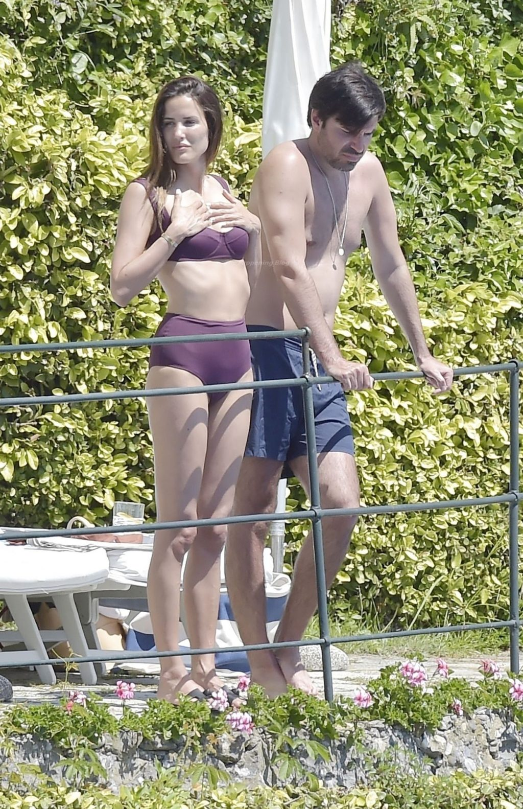 Alex Riviere & Christian Sieber Show Some PDA Out on Their Italian holiday (31 Photos)