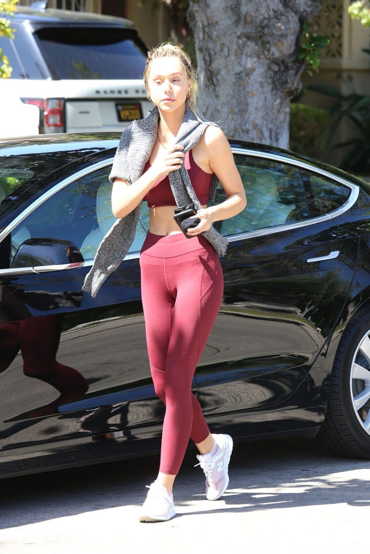 Alexis Ren is Seen Heading to Pilates in LA (19 Photos)