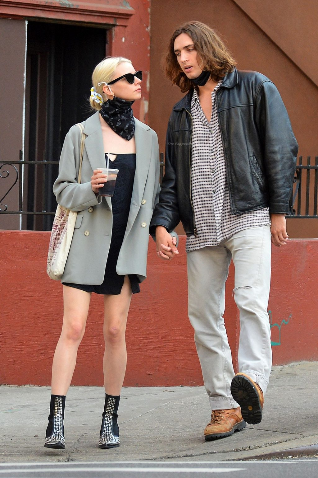Anya Taylor-Joy is Spotted Packing on The PDA With Actor Malcolm McRae in NYC (41 Photos)