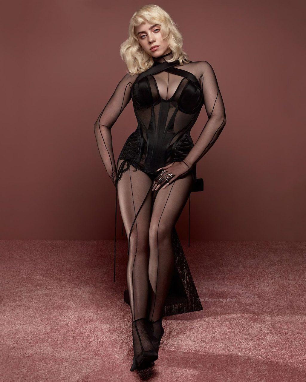 Billie Eilish Sexy – Vogue UK (4 Photos)