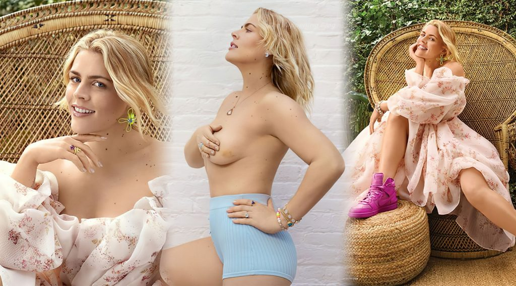 Busy Philipps Sexy & Topless – Health Magazine (6 Photos)