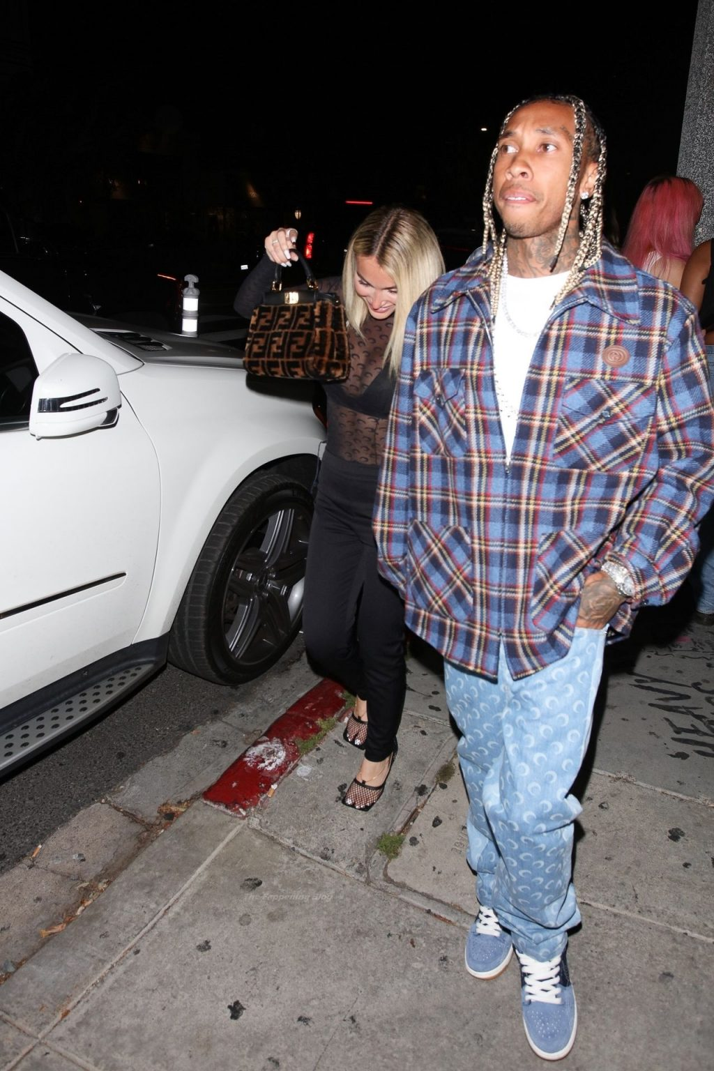 "Tyga & Camaryn Swanson are Seen Leaving ""Poppy"" in WeHo (15 Photos)"