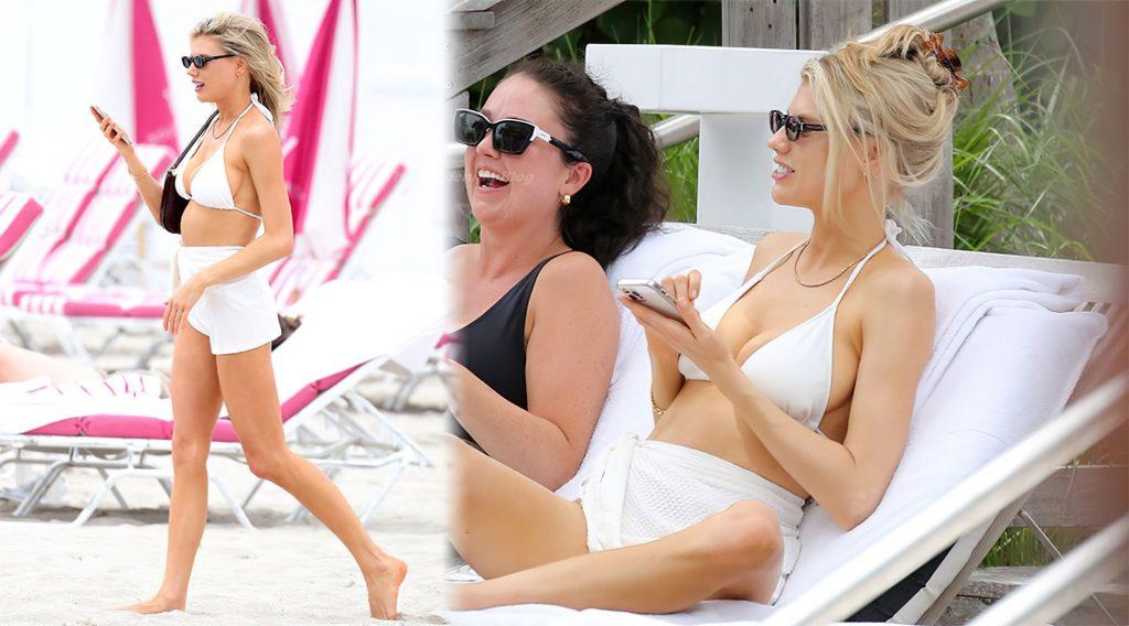 Charlotte McKinney Hits the Beach in Miami (15 Photos)