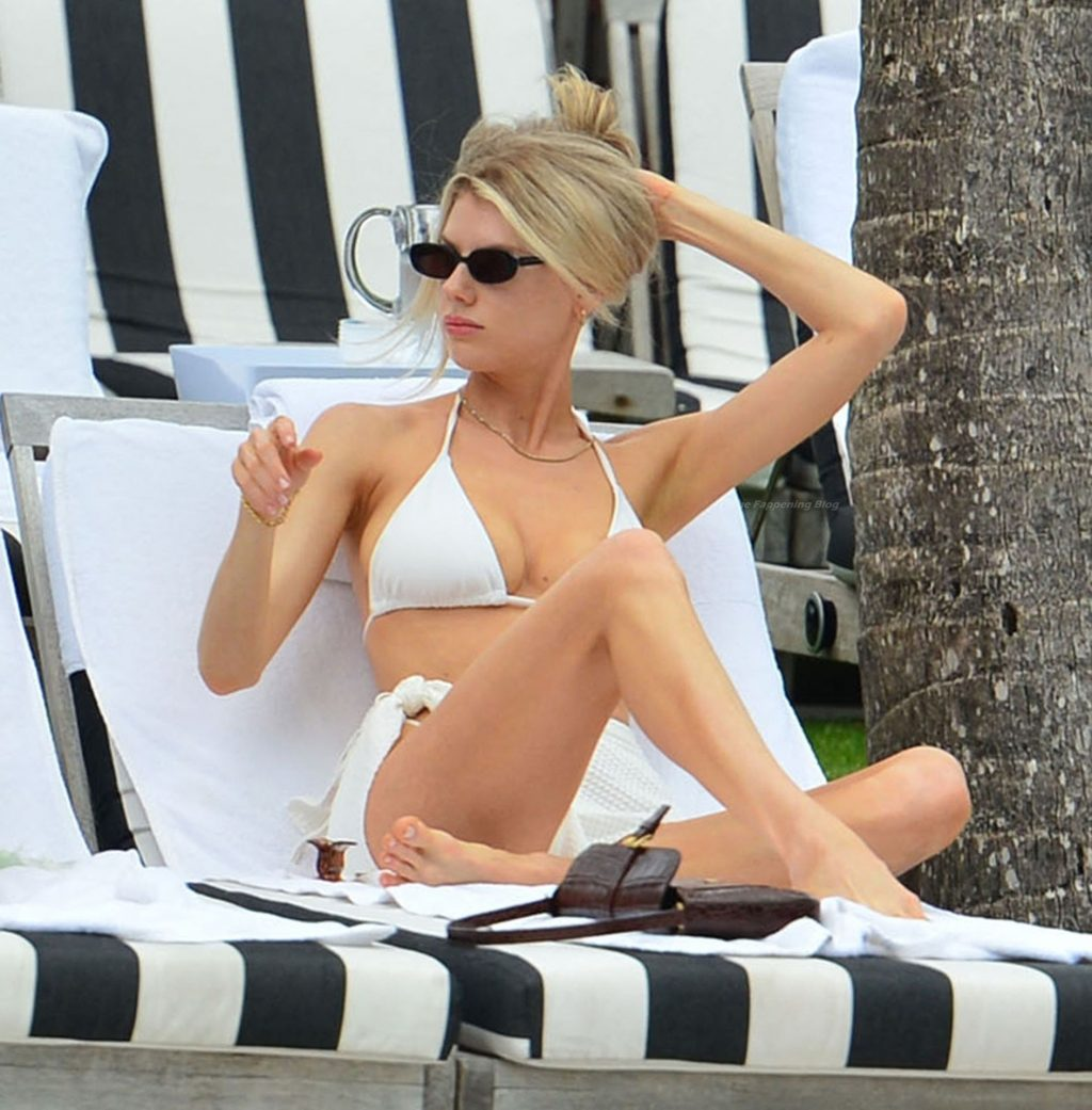 Charlotte McKinney Shoots For PrettyLittleThing in Miami (18 Photos)