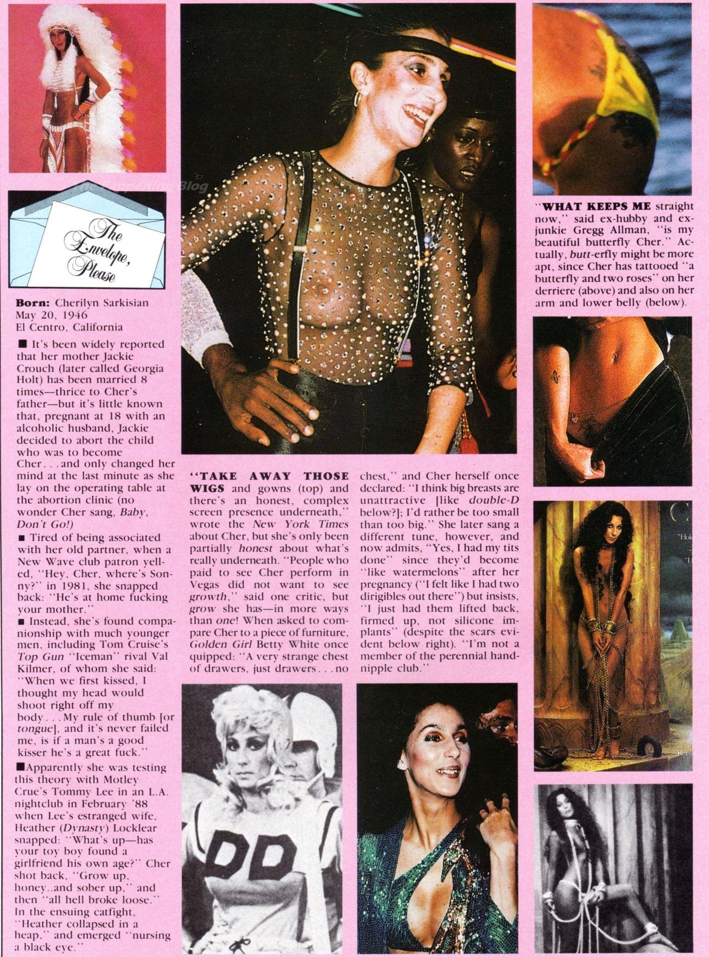 Cher Naked
