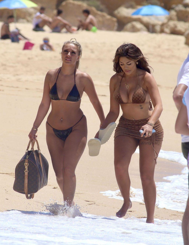 Chloe Ferry & Bethan Kershaw Hit the Beach in Portugal (13 Photos)