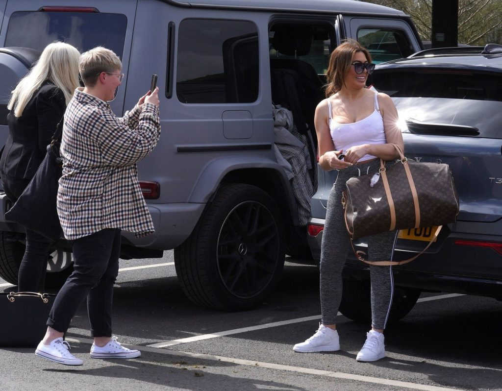 Chloe Ferry is Seen with Her Mother in Durham (35 Photos)