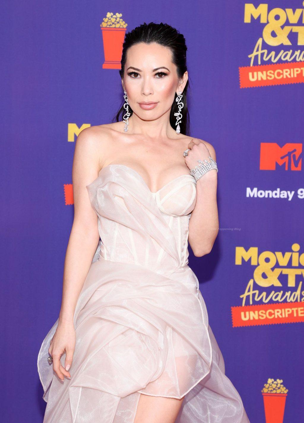 Christine Chiu Shows Off Her Boobs at the 2021 MTV Movie & TV Awards (9 Photos)