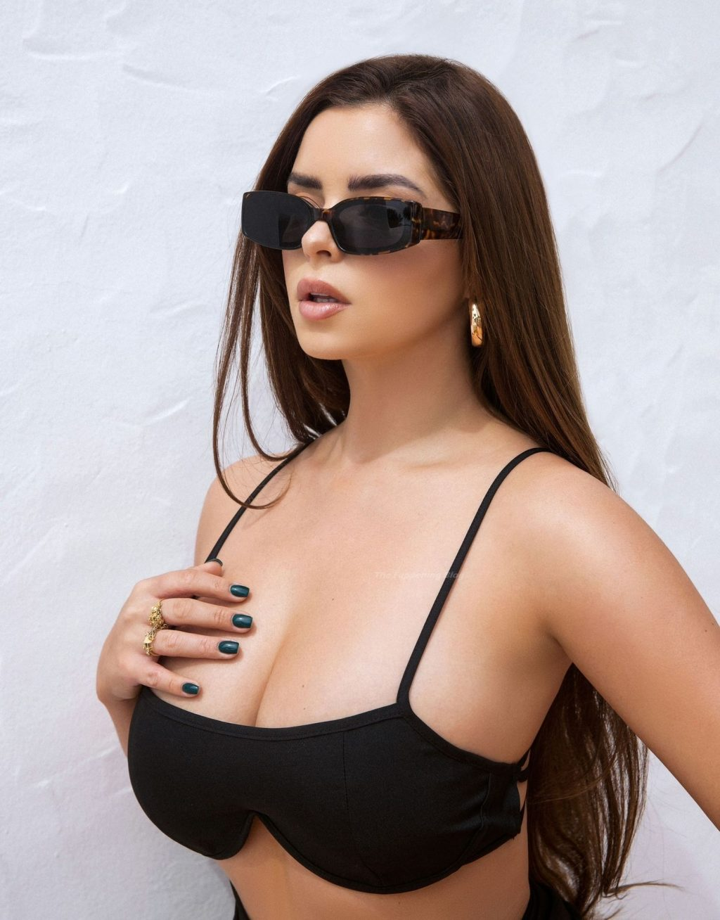 Demi Rose Showcases Her Sexy Voluptuous Figure (16 Photos)