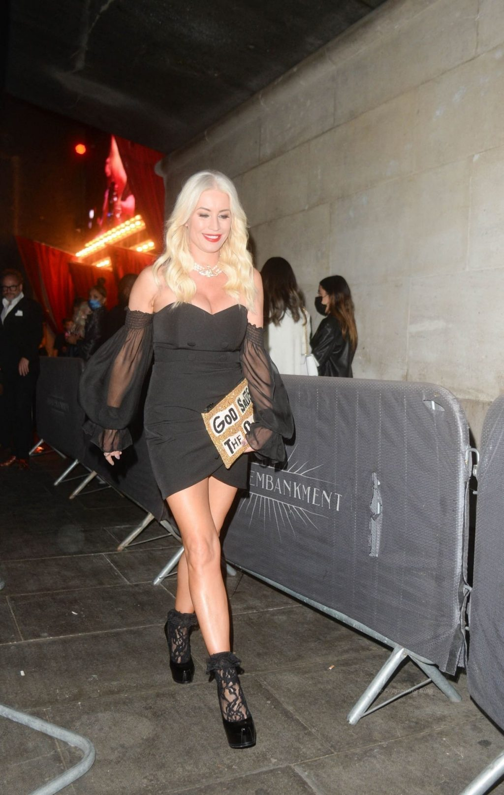Denise Van Outen is Pictured Leaving the Proud Embankment in London (36 Photos)