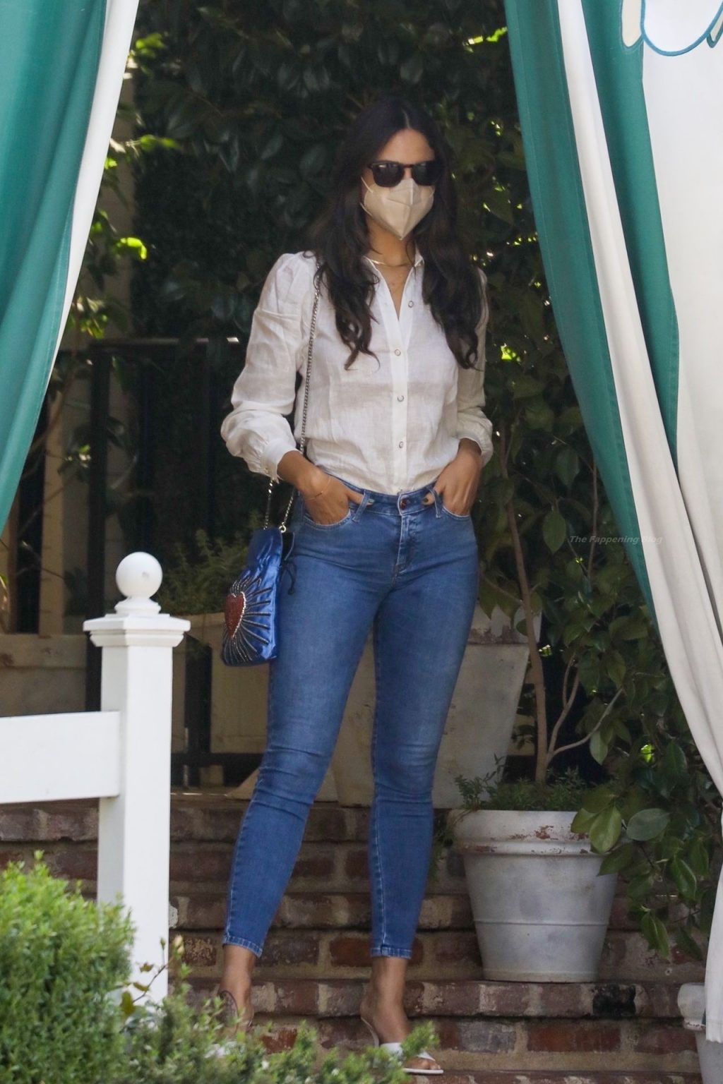 Eiza Gonzalez Leaves After Lunch at San Vicente Bungalows (70 Photos)