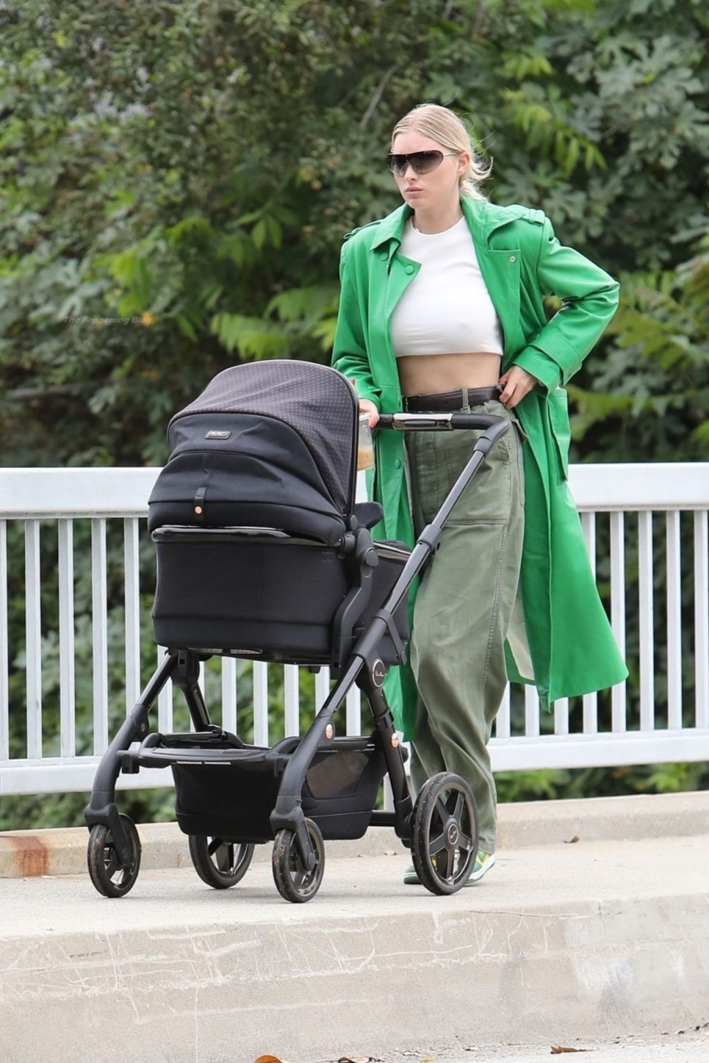 Elsa Hosk Rocks a Crop Top and Puts Her Abs on Display while on a Coffee Run in LA (23 Photos)