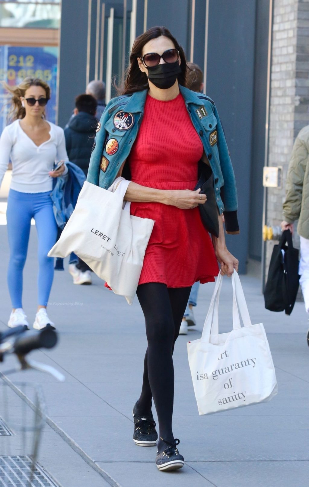 Famke Janssen Gets Some Shopping Done in the Big Apple (10 Photos)