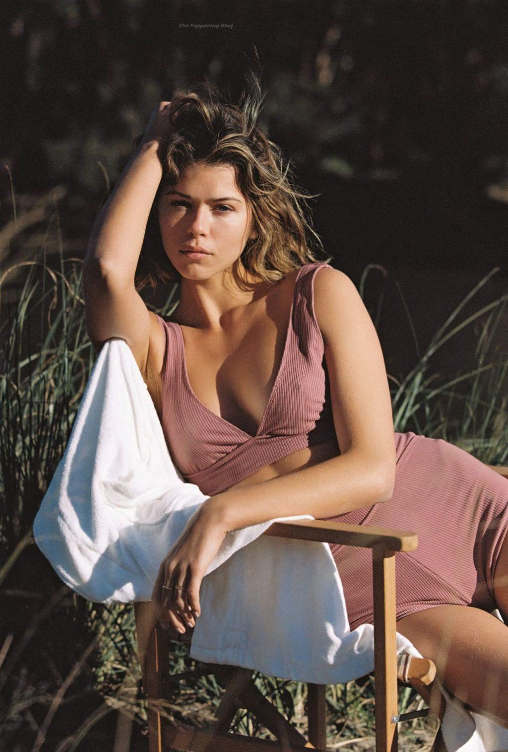 Georgia Fowler Poses for a New Swimwear Brand Juillet Swimwear Campaign (40 Photos)