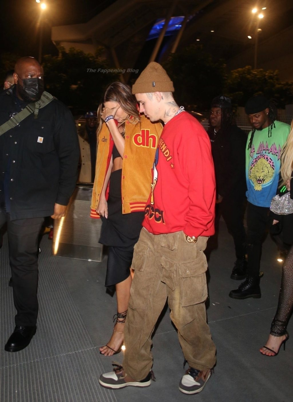Hailey Bieber & Justin Bieber Step Out to Support Drake's Numerous Wins at the Sofi Stadium (30 Photos)