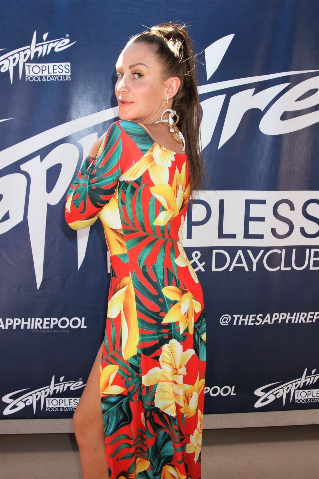 Hayley Bray Gets Cheeky at Sapphire Pool and Dayclub (30 Photos)