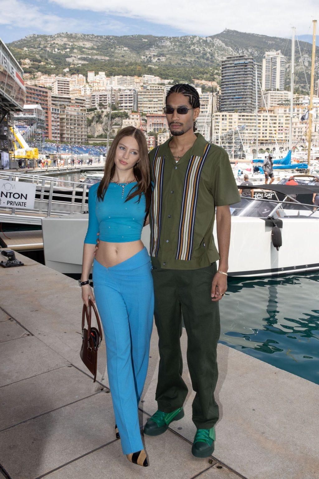 Iris Law & Jyrrel Roberts Attend The 68th Formula 1 Grand Prix of Monaco (18 Photos)