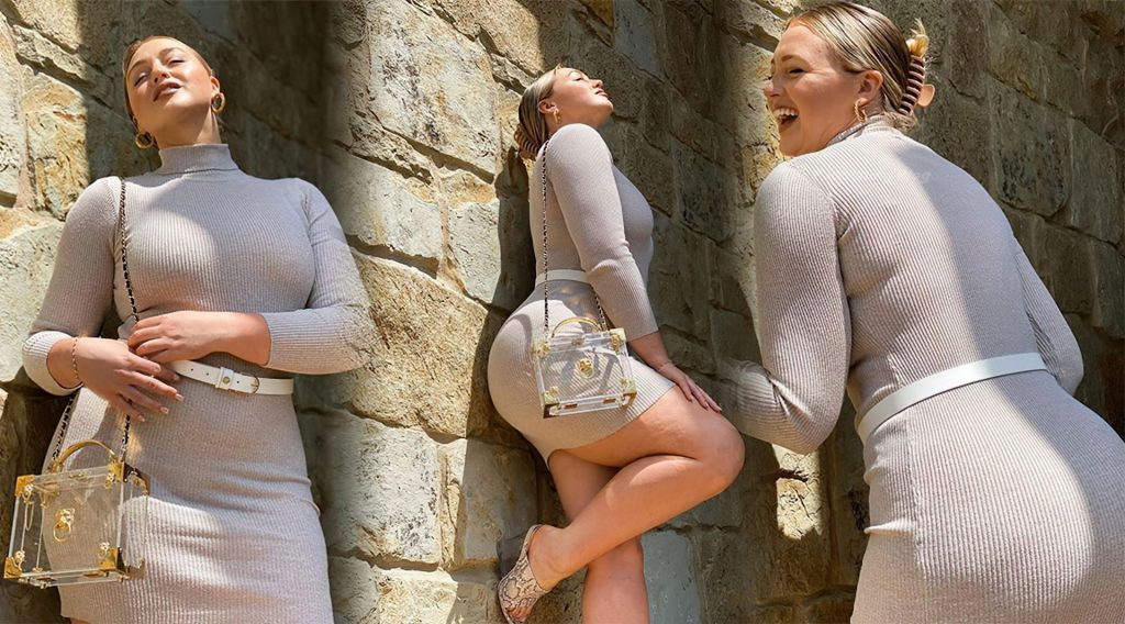 Iskra Lawrence Flaunts Her Curves in a New Shoot (8 Photos)