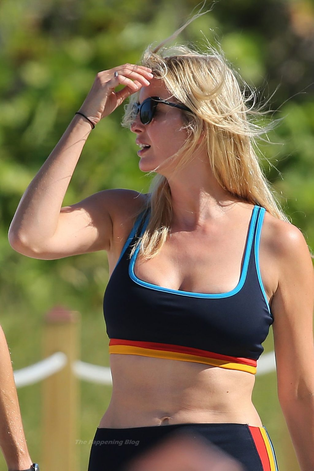 Ivanka Trump Shows Off Her Curves in a Sports Bra and Leggings (71 Photos)