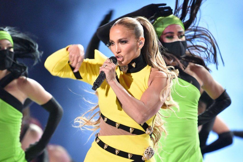 Jennifer Lopez Shows Her Curves at SoFi Stadium (32 Photos)