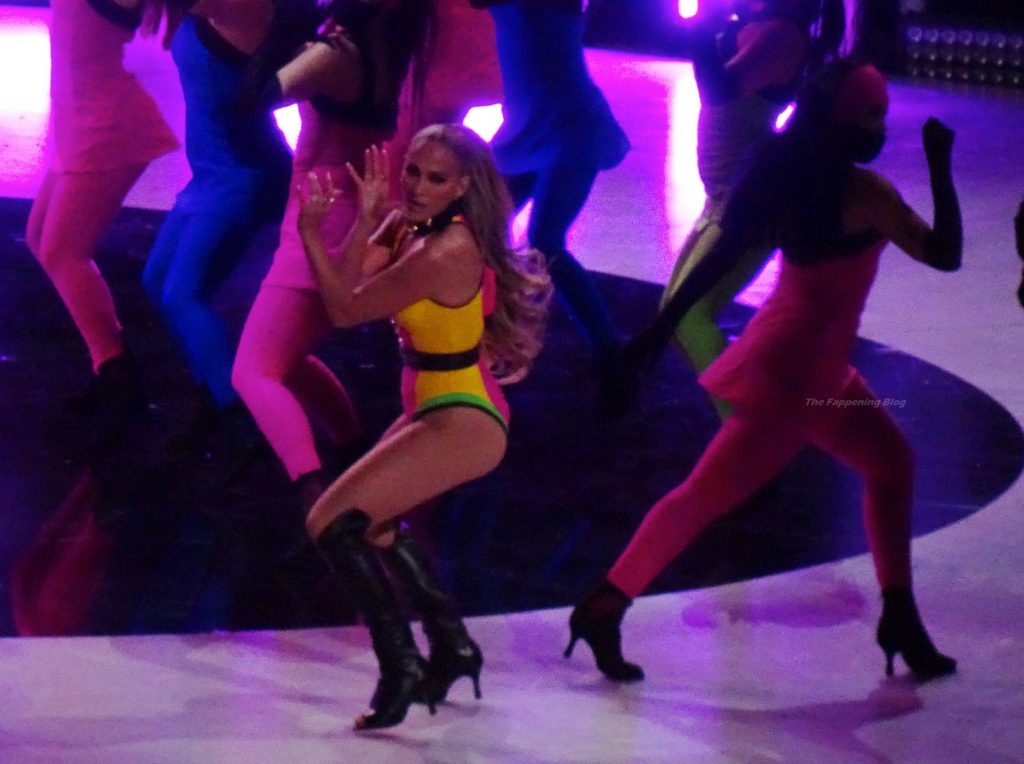 Jennifer Lopez Performs at the Vax Live Event (22 Photos)