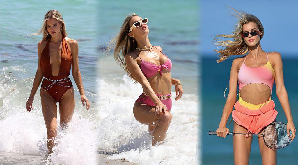 Joy Corrigan Sexy (4 Collage Photos)