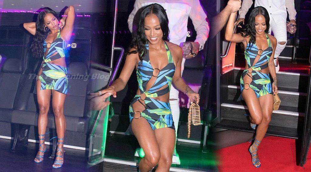 Karrueche Tran Looks Hot in a Tiny Dress as She Turns 33 in Miami (51 Photos)
