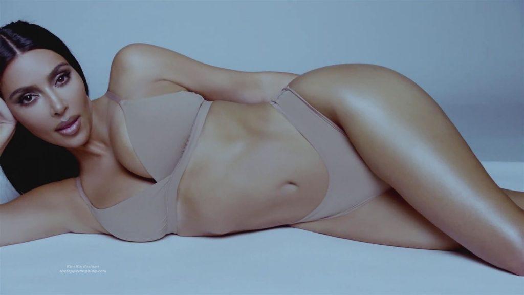Kim Kardashian Presents Her SKIMS Shapewear (35 Pics + Video)