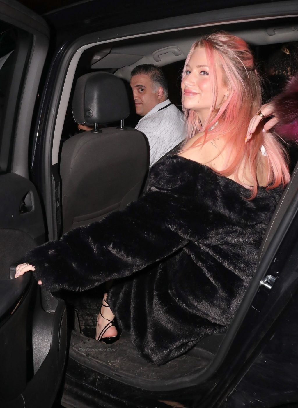 Lottie Moss Goes Braless and Flashes Her Boobs While Heading Out for Dinner in London (50 Photos)