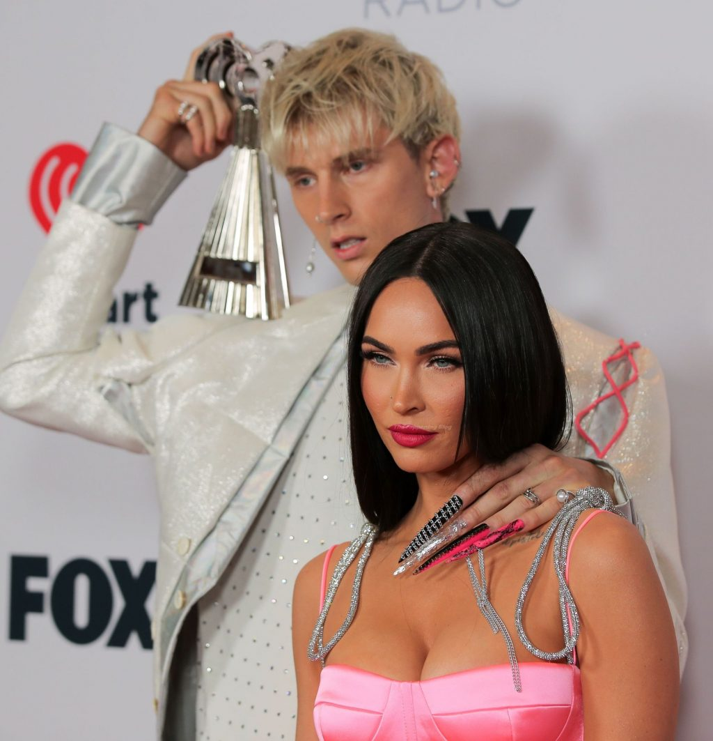 Megan Fox Stuns on the Red Carpet of the 2021 iHeartRadio Music Awards (80 Photos)