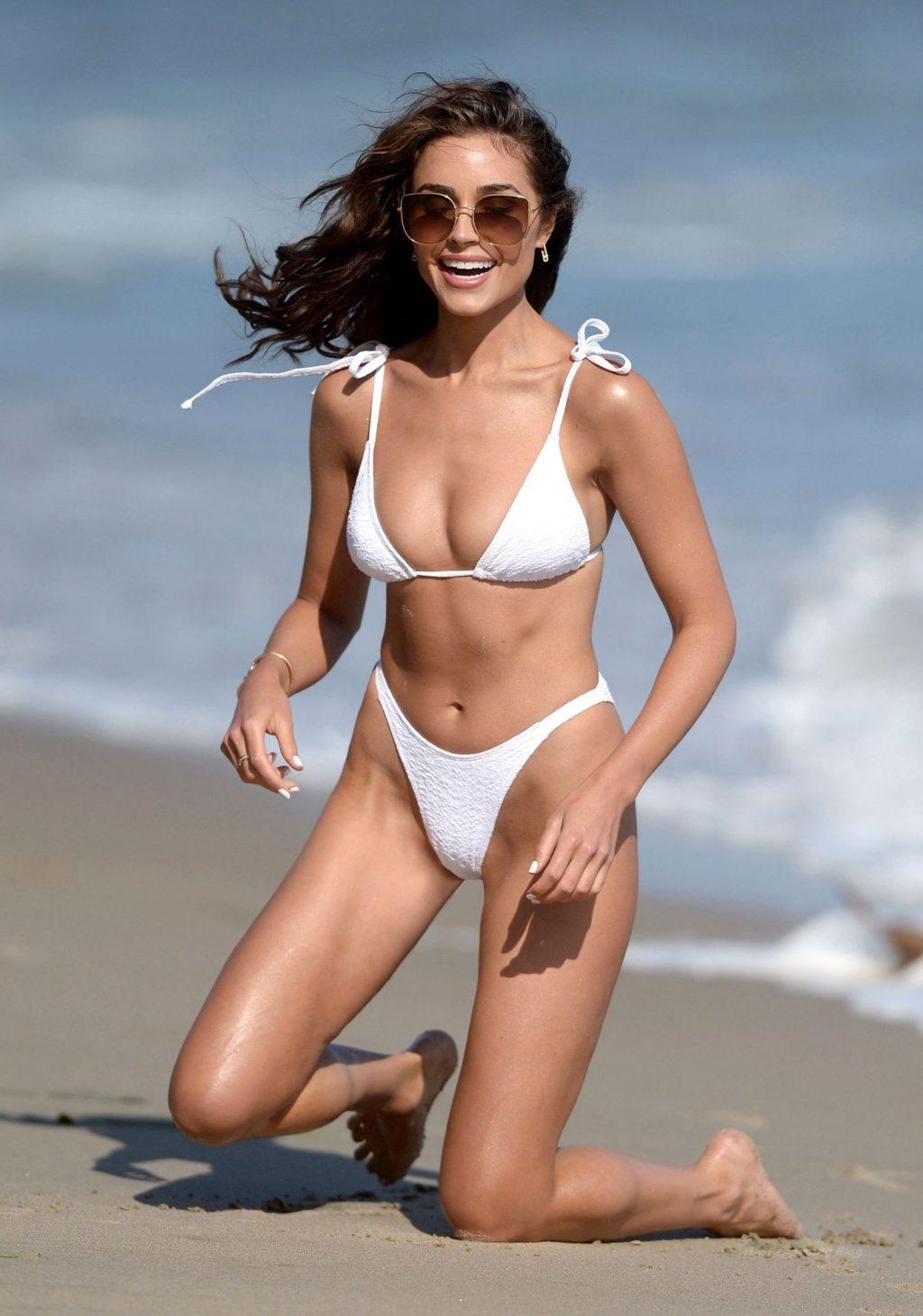 Olivia Culpo is Seen Rocking a Boohoo Bikini (7 Photos)