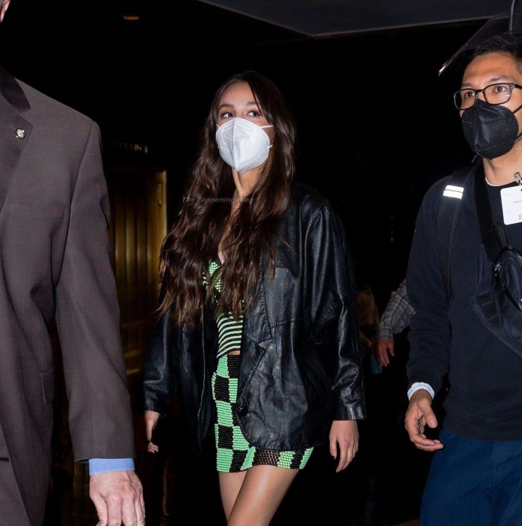 Olivia Rodrigo Heads to Rehearsal at Saturday Night Live (33 Photos)