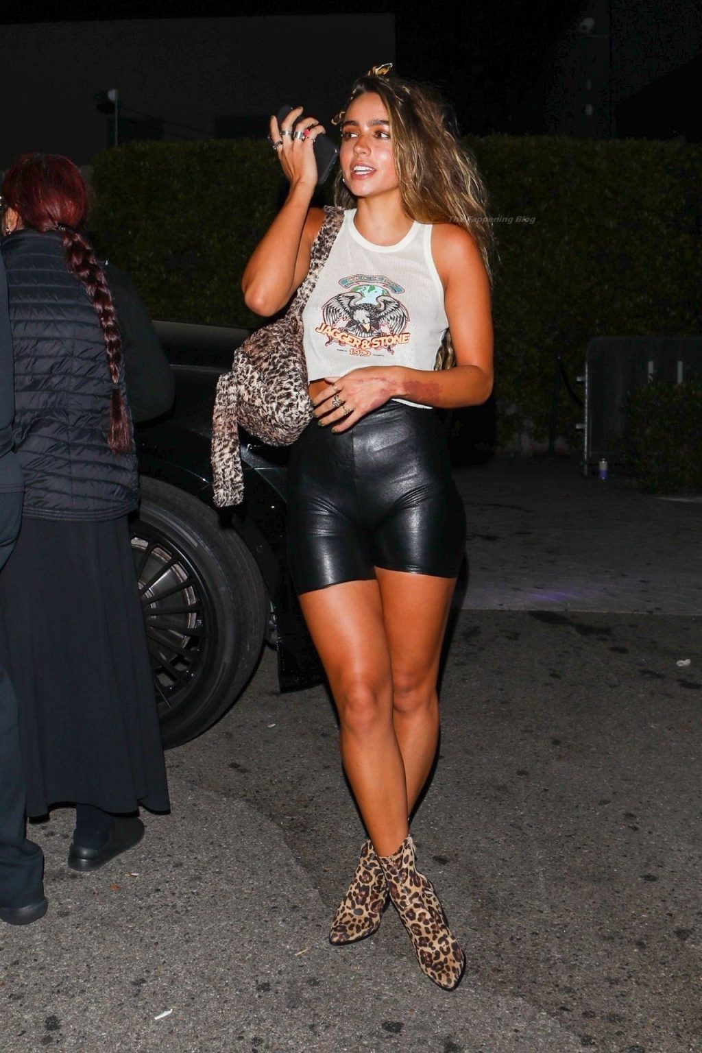 Sommer Ray is All Smiles Leaving DJ Marshmello's Birthday Party (45 Photos)