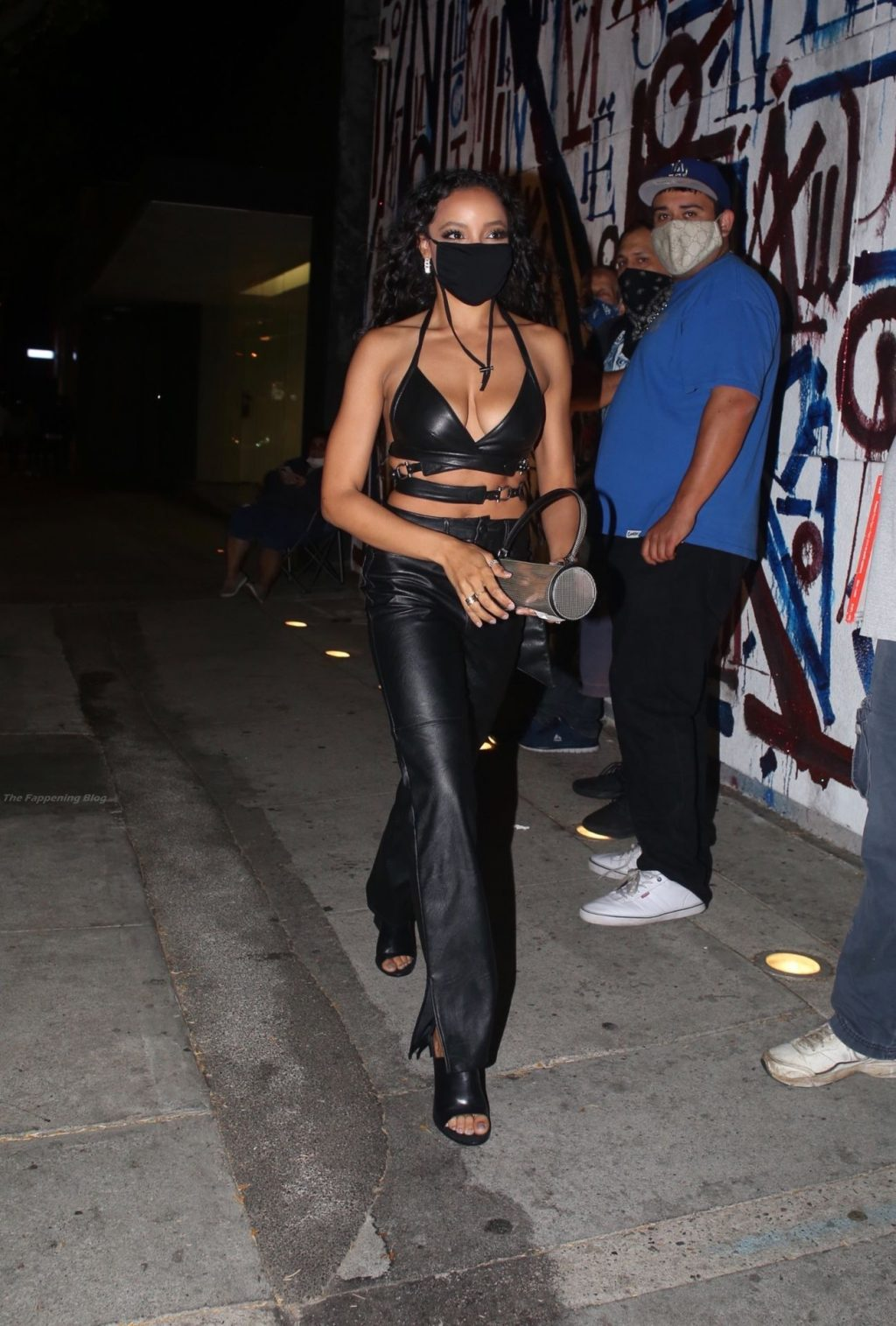 Tinashe Turns Heads as She Arrives at Craig's For Dinner (5 Photos)