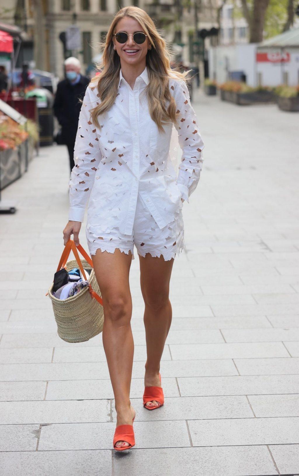 Leggy Vogue Williams Looks Stunning in London (49 Photos)