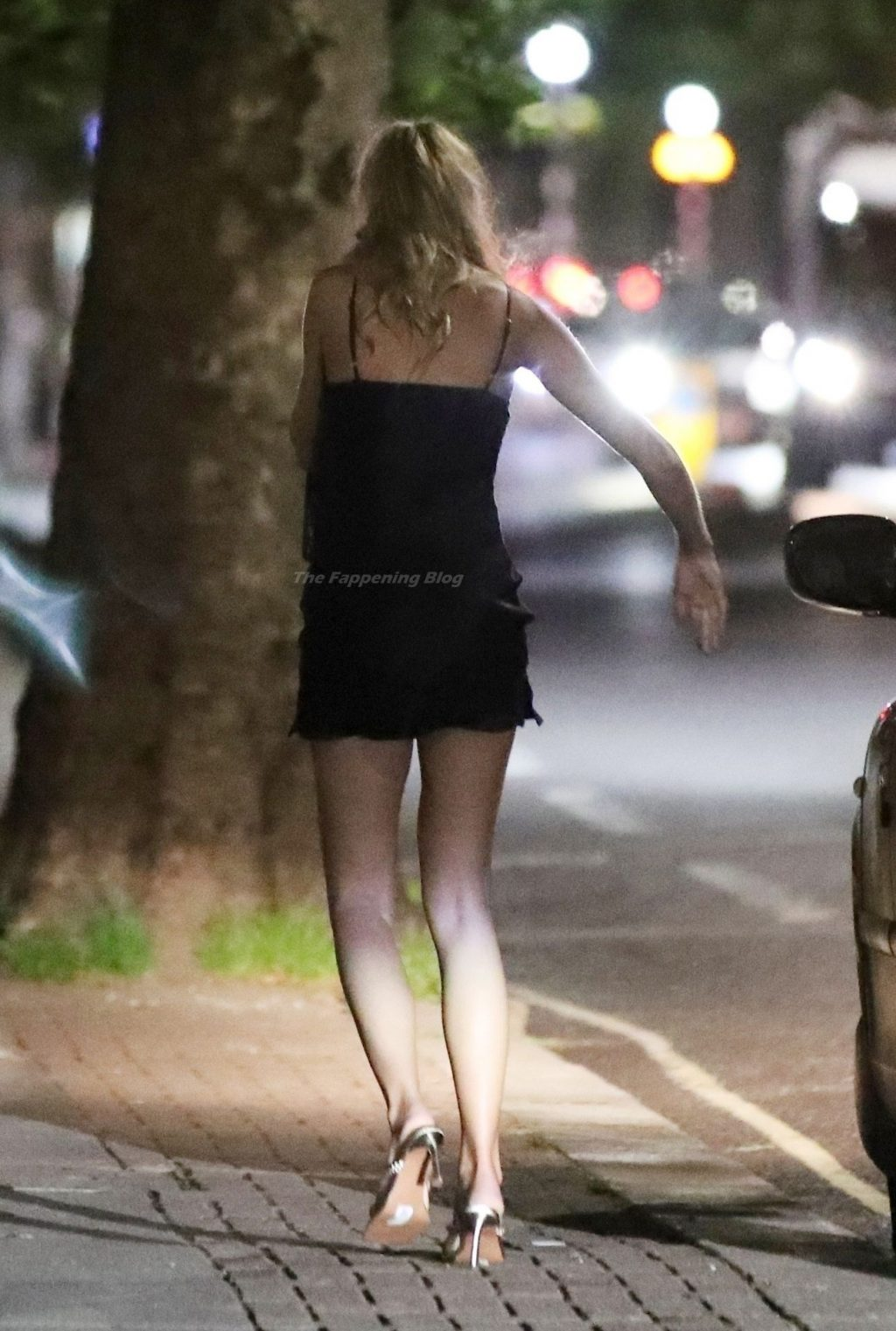 Zara McDermott Flashes Her Pink Panties in London (24 Photos)