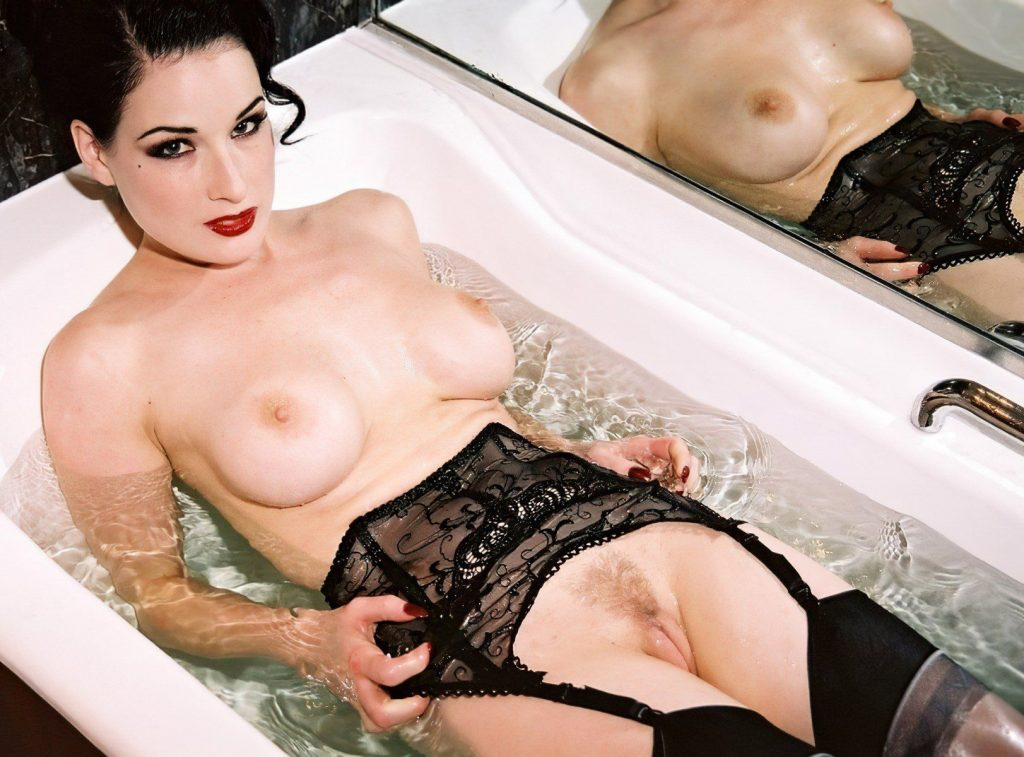 Dita Von Teese Nude Pussy Pics Ultimate Collection (79 Photos + Video)