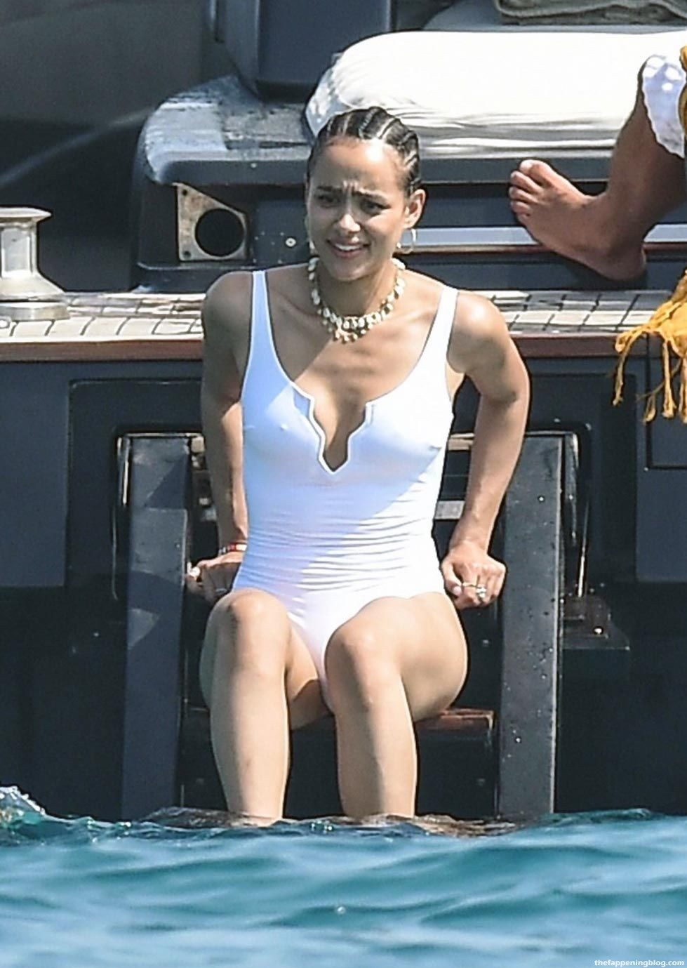 Nathalie Emmanuel Nude, Topless & Sexy (102 Photos + Sex Video Scenes Compilation)