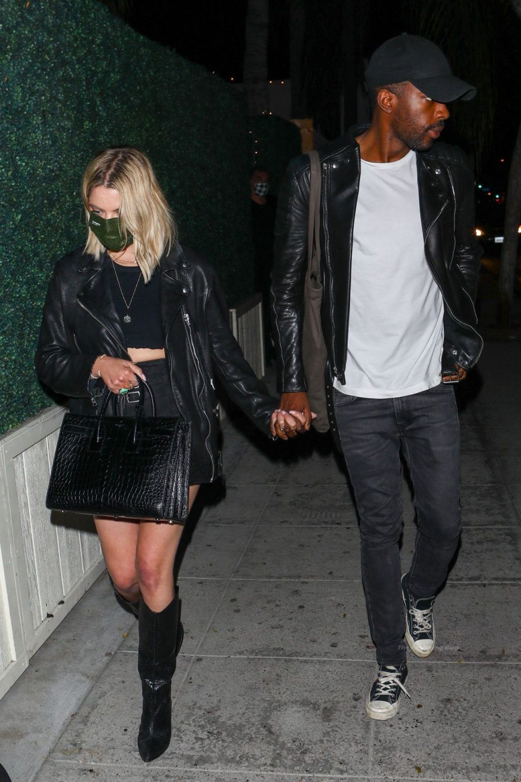 Ashley Benson Holds Hands with a Mystery Man (26 Photos)