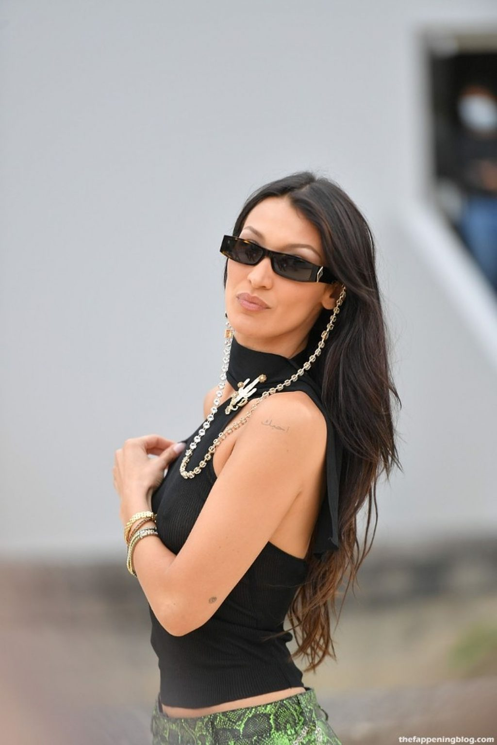 Bella Hadid Shows Off Her Tits in Paris (100 New Photos)