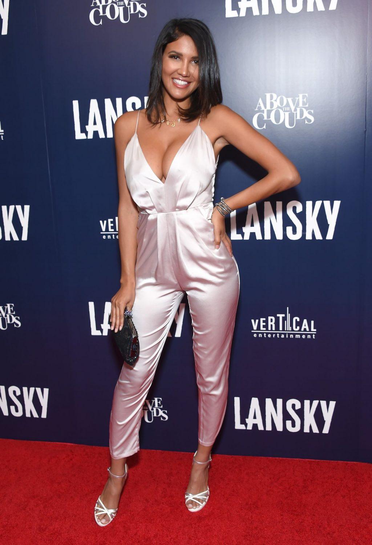 CJ Franco Displays Her Cleavage at the Lansky Premiere (11 Photos)