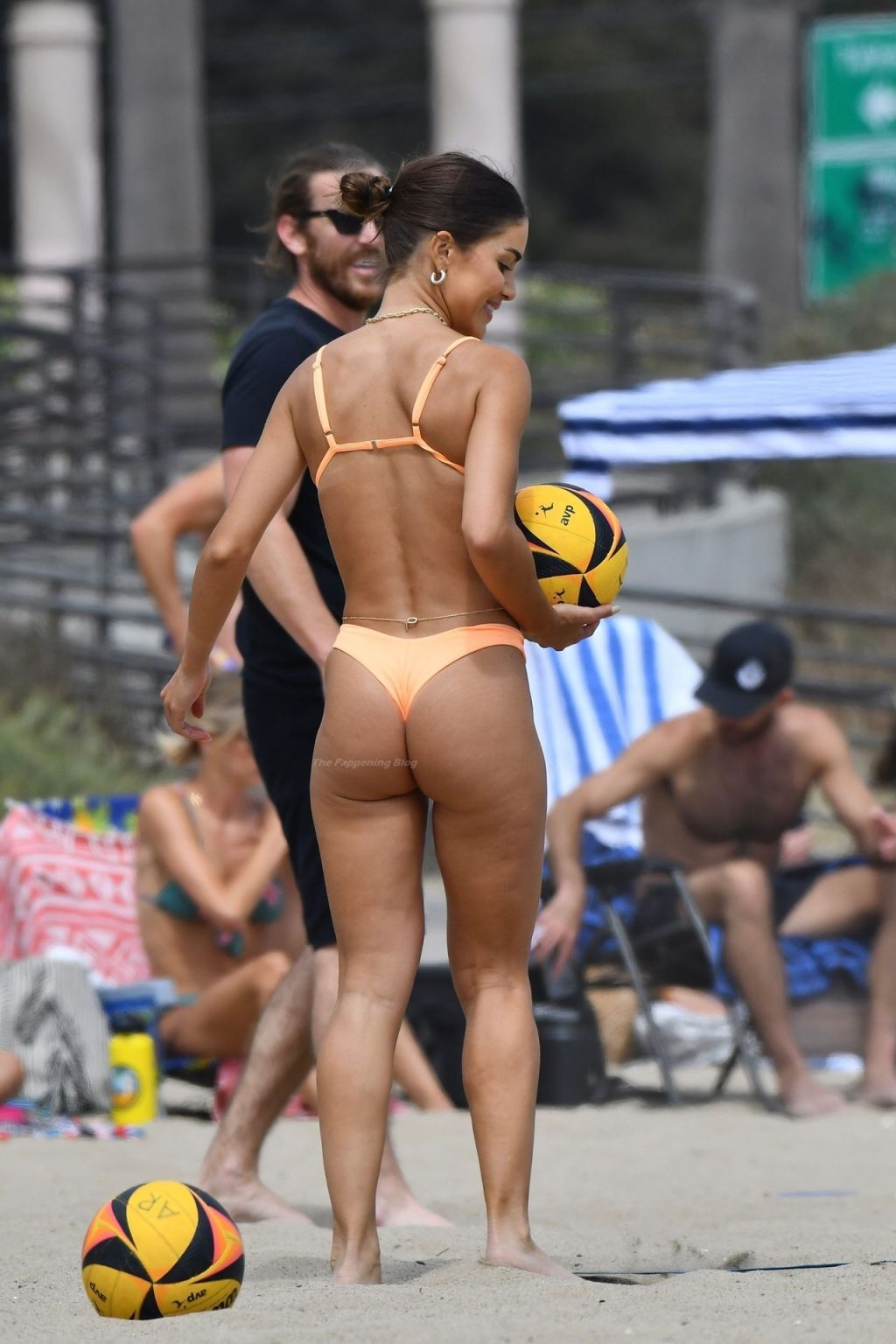Camila Coelho Dons a Tiny Two-Piece During a Volleyball Match (104 Photos)